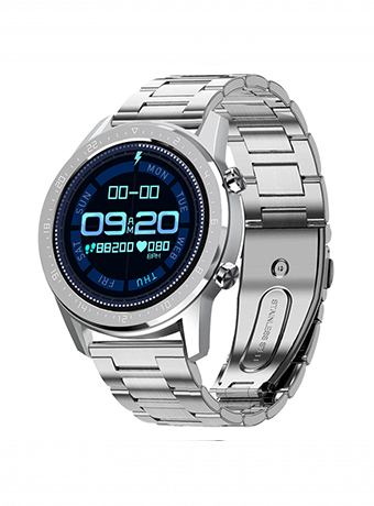 Reloj Duward Smartwatch brazalete de acero